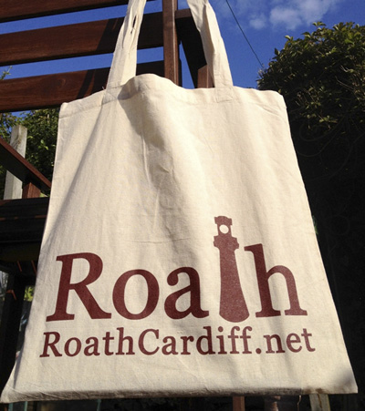Roath Cardiff Tote Shopping Bag