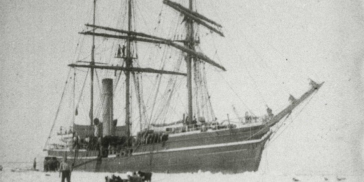 Scott of the Antarctic's ship Terra Nova discovered