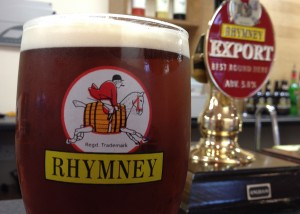 Rhymney Beer - Andrew Buchan opening