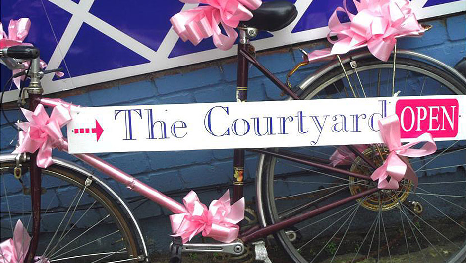 The Courtyard – Sophie and Anne
