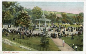 Roath Park Bandstand. Collection of Anne Bell