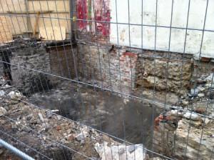 Cellar beneath Meek's