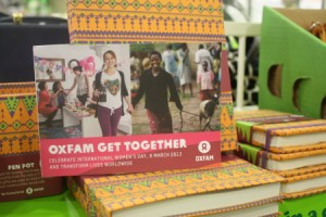 Oxfam Get Together. Image copyright Lowri Smith