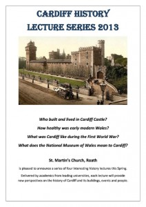 Welsh History Lecture Series, St. Martin's