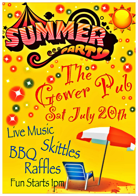 Summer Party at The Gower