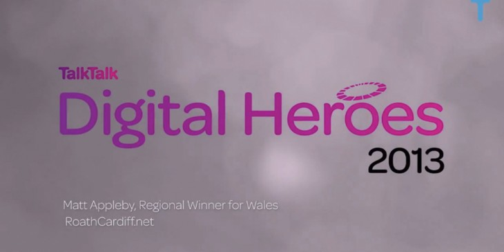 Digital Heroes Roath Cardiff Award