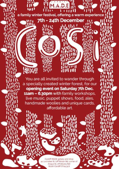 Cosi Festival Poster