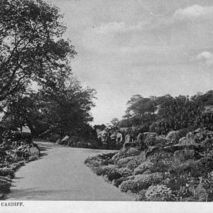 The Rock Garden, Roath Park 1909