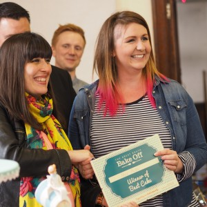 Roath Bake off winner Nell Pugh