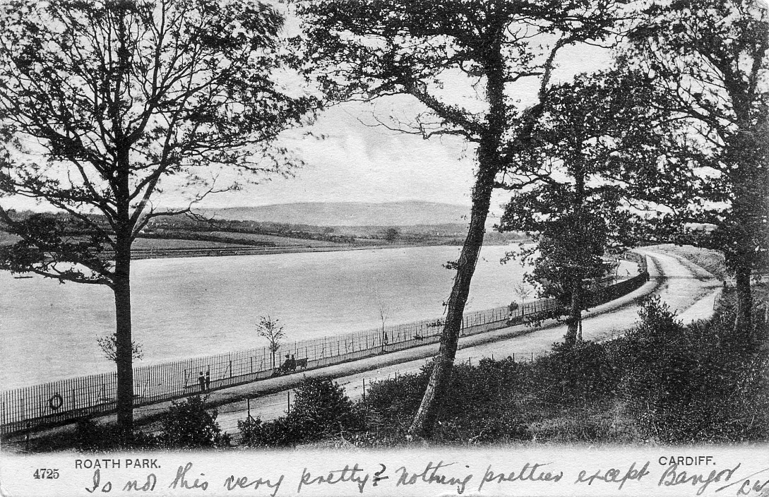 Roath Park 1896 (Francis Frith/collection of Anne Bell)