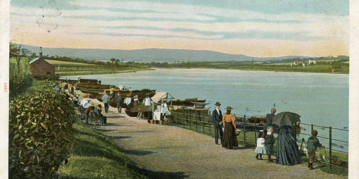 Roath Park c 1896 (Francis Frith/collection of Anne Bell)