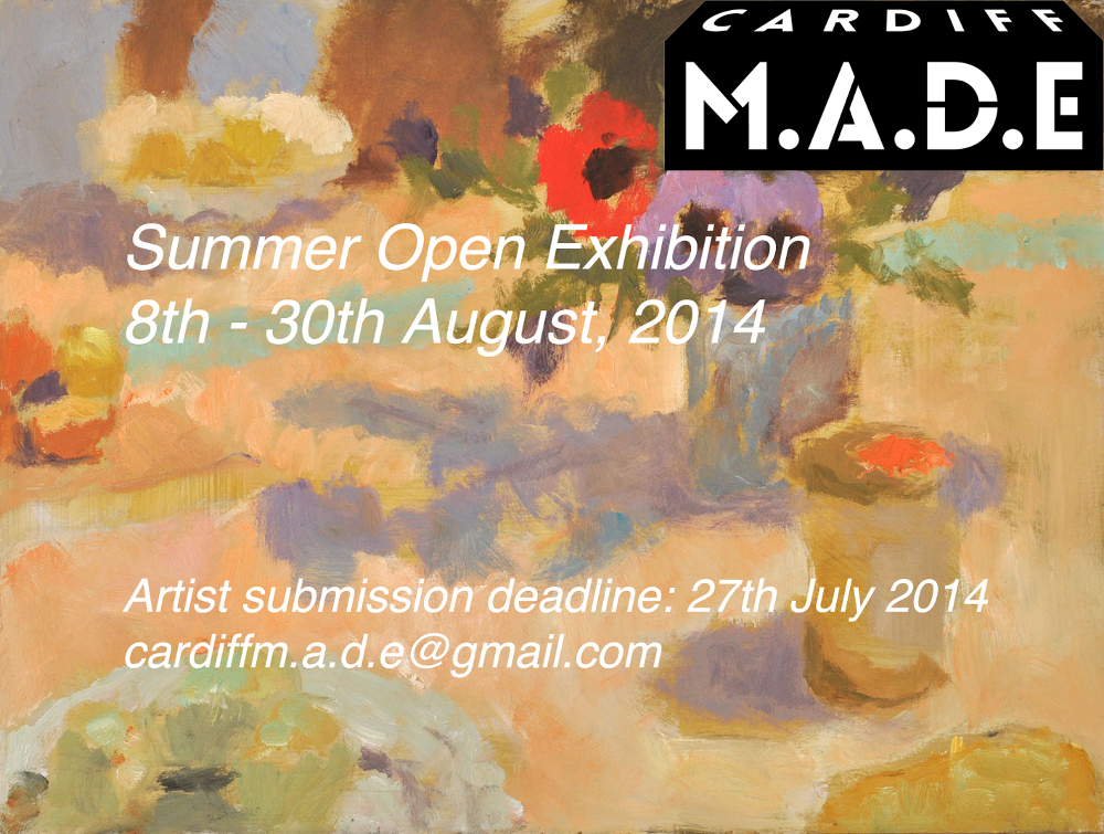 Cardiff MADE Summer open exhibition 2014