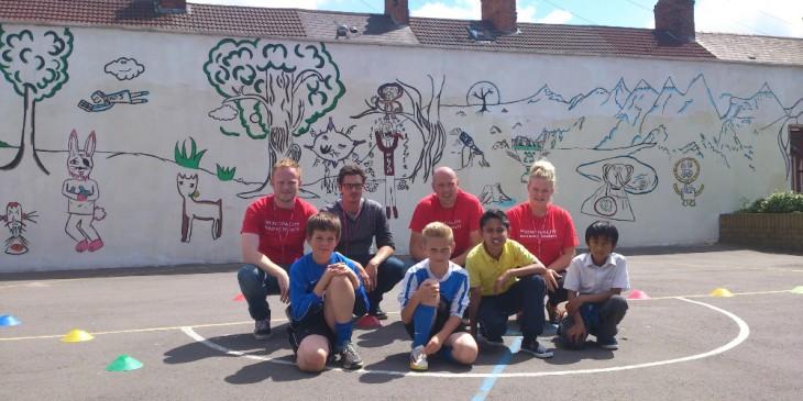 Albany Primary School mural