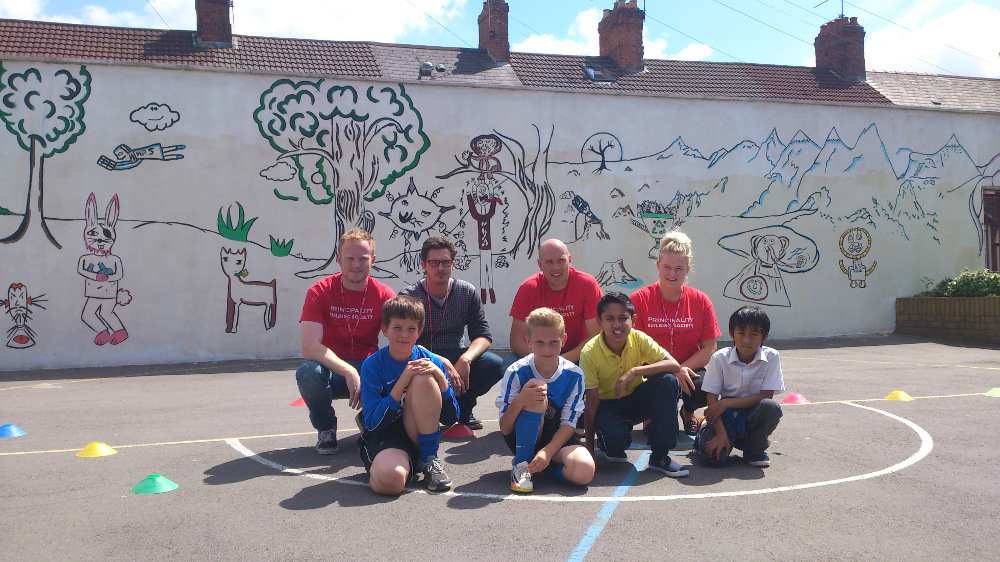 Albany Primary School mural