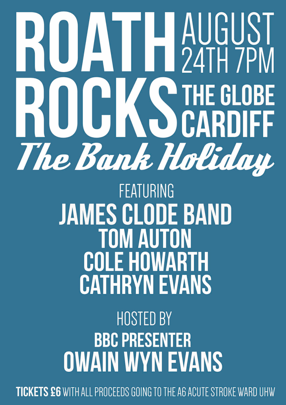 Roath Rocks 2014 poster
