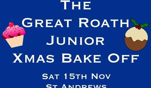 Great Roath Junior Christmas Bake Off