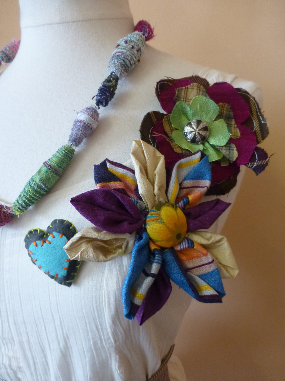 Zap Upcycled brooches