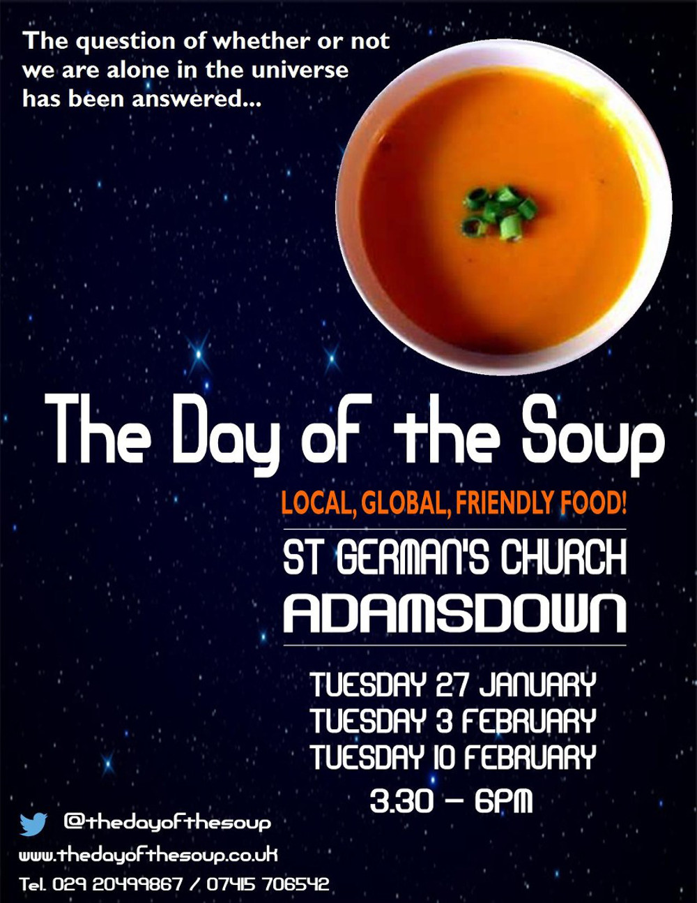 Day of the Soup flyer