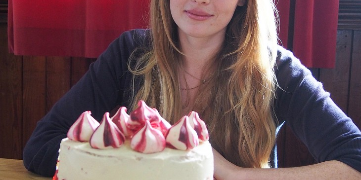 Bake off winner Kiryn Howard
