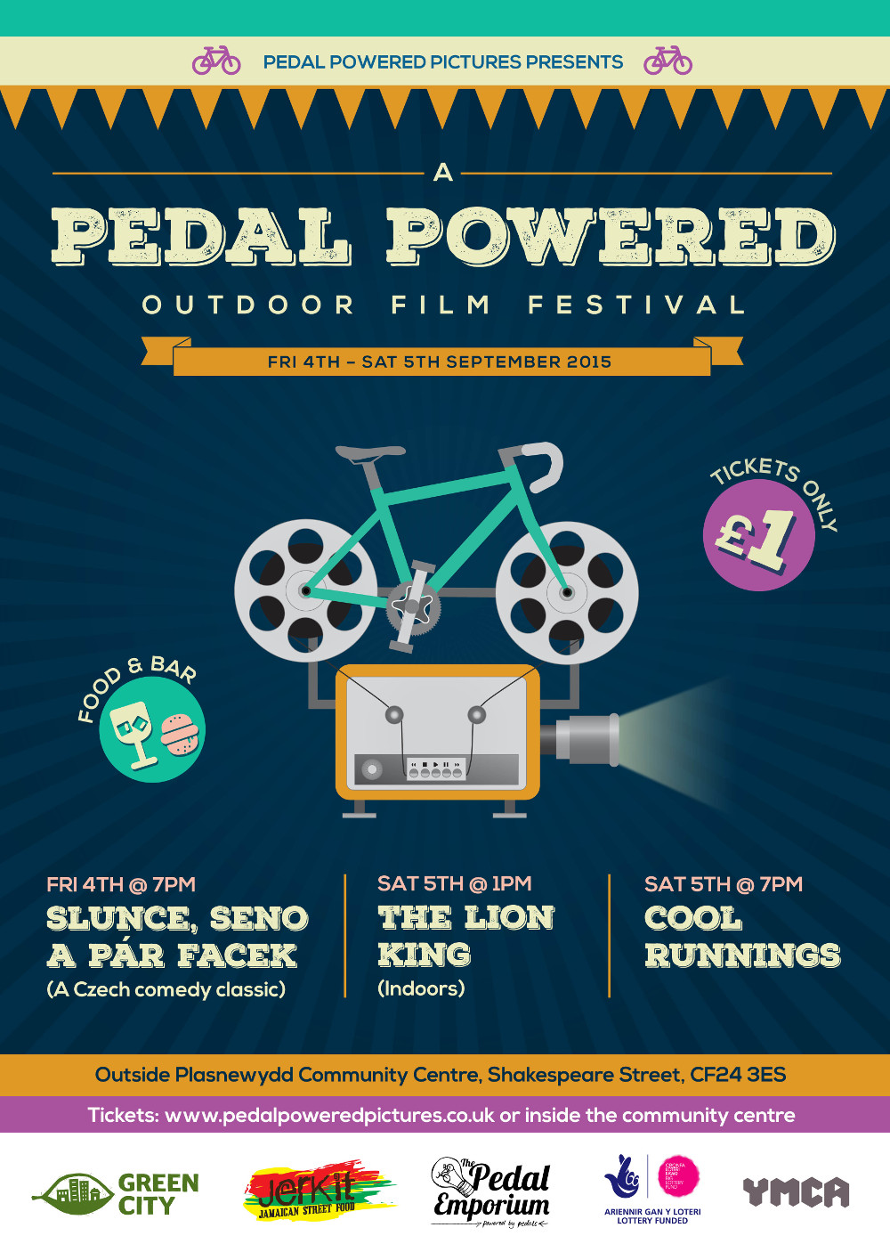 Pedal Powered Film Poster
