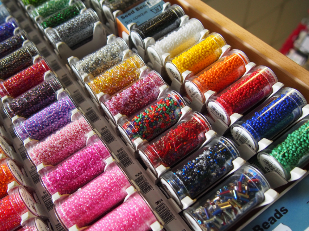 Inkspot Retail Sale Beads