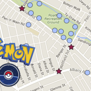 Pokemons in Roath